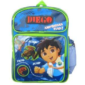 Go Diego Go Animal Adventures Rescue Backpack Large with
