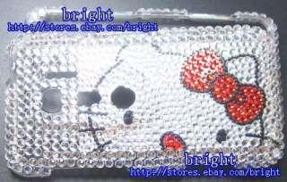 hello Kitty Bling Full Case For Sprint HTC EVO 3D #14