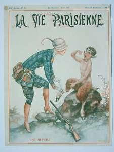 Art Deco Original Cover La Vie Parisienne 1927
