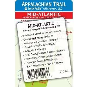 Appalachian Trail Pocket Profile   Mid Atlantic Set