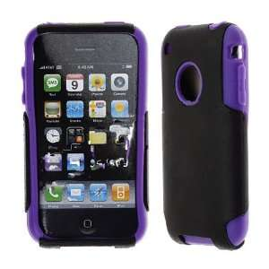 Premium   Apple iPhone 3G/ 3Gs Skin with Cover Solid Black