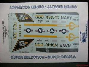 32 SUPERSCALE DECALS F/A 18C HORNET VFA 97 |