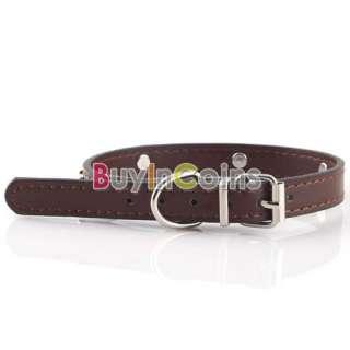 Metallic Bones Pattern Puppy Cat Pet Dog Cute Leather Collar Hot