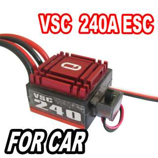 RC 240A Brushed Speed Control ESC for Car Truck