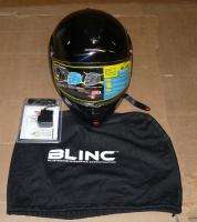 VCAN Blinc 210 Gloss Black X Large Full Modular Helmet with Bluetooth