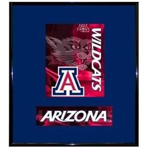 Arizona Wildcats UA NCAA Basketball 13 X 15 Framed Logo