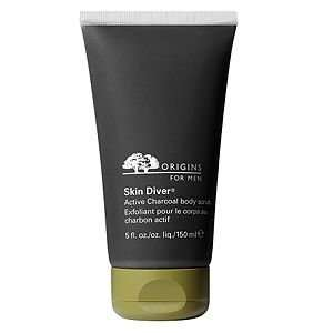 Origins for Men Skin Diver Active Charcoal Body Scrub, 5 fl oz: Beauty