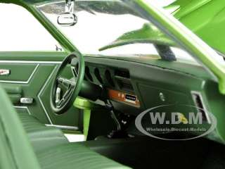 1969 PONTIAC GTO JUDGE GREEN 1/18 L.E.1 OF 1000 PRODUCED BY AUTOWORLD