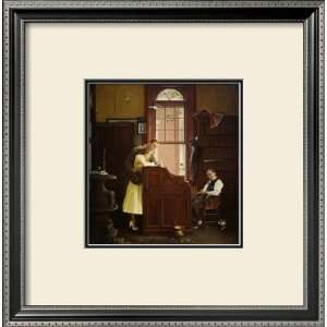 Marriage License Framed Giclee Poster Print by Norman