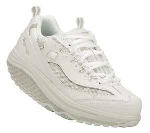 SKECHERS Shoes Women 12307 White Walk Fitness Shape Ups