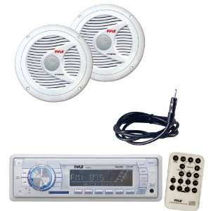 Radio Receiver, Speaker and Cable Package   PLMR18 AM/FM MPX PLL