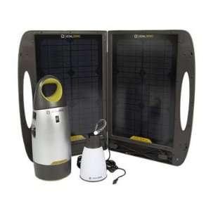 Zero Escape 150 Expedition Kit w/ Solar Panel Battery Pack & LED Light