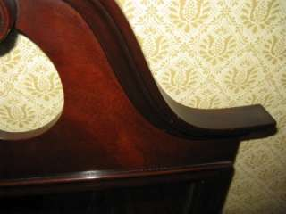 Drexel Travis Court Collection solid Mahogany Queen Anne Mirror