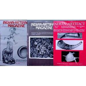 Indian Artifact Magazine 3 issues Battle of Wyoming, Atlatl