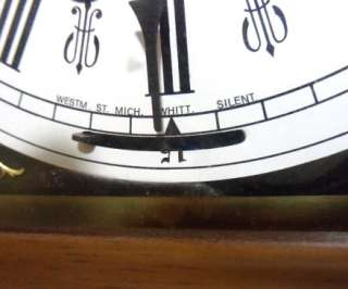 German Linden Triple Chime Bracket Clock