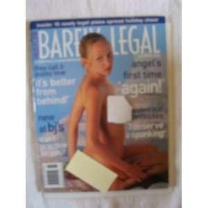 Barely Legal Magazine December 2002 Hustler Magazine Books