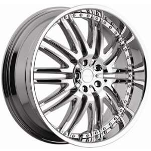 Menzari M Sport 22x10 Chrome Wheel / Rim 5x112 with a 45mm