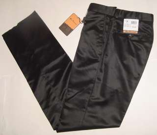 175 BEN SHERMAN BLACK WOOL STRAIGHT DRESS PANTS 28 UNH