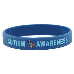 Autism Awareness Rubber Bracelet Wristband   Youth 7