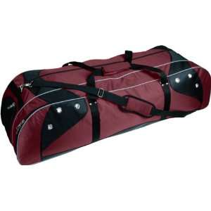 Martin Custom Lacrosse Players Bags MAROON/BLACK 42 L X 13