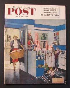 1953 SATURDAY EVENING POST Magazine   Apr 18