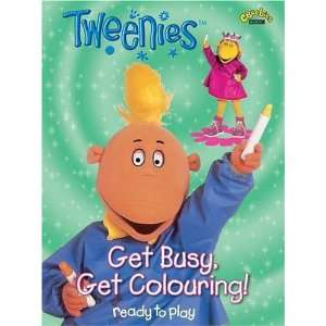 Get Busy, Get Colouring! (Tweenies) (9781405901093): BBC: Books