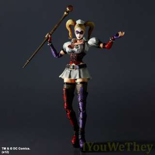 Square Enix Batman Arkham Asylum Harley Quinn Play Arts Kai Action