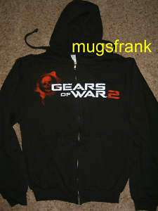 Gears of War Marcus Armed Zip up Hoodie Jacket Shirt