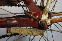 Arnold Schwinn The World Pre War Balloon tire bicycle bike Ladies red