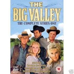 The Big Valley   Complete Series 1   8 DVD SET   NEW 4006408861874