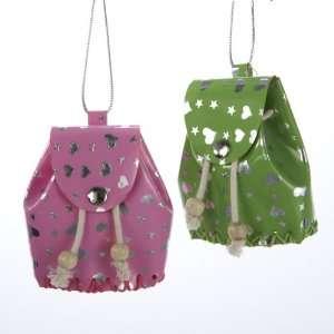Club Pack of 24 Tween Christmas Stylish Heart Backpack