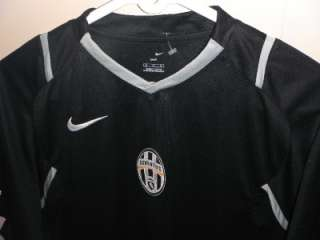VTG AUTHENTIC NIKE JUVE JUVENTUS TURIN ITALY JERSEY SHIRT MAILLOT 016
