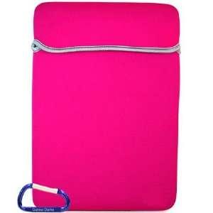 MacBook Air 13.3 Inch Neoprene Reversible Laptop Sleeve (Black / Pink