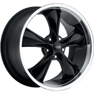 Foose Legend 20x9 Black Wheel / Rim 6x135 with a 25mm Offset and a 87