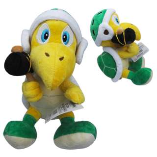 Super Mario KOOPA TROOPA 8 Soft Plush Doll Toy