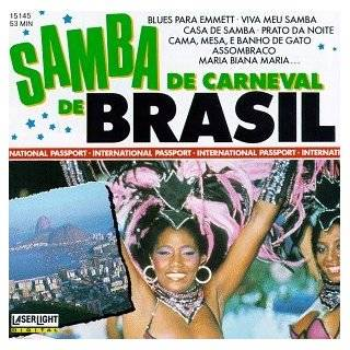 Samba De Carnival Brasil by Various Artists ( Audio CD   1989)
