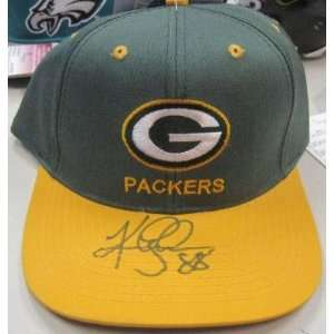 Keith Jackson Green Bay Packers Signed Autographed Hat W/jsa   Mens