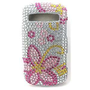 Icella FS SAR720 JF03 Pink Flower Jewel Snap On Cover for