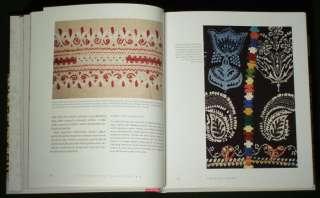 Embroidery antique ethnic textile costume lace Slovakia kroj