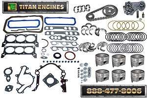 FORD 232 3.8 89 93 Engine Rebuild Kit Premium