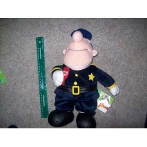 / Island of Misfit Toys/ Traffic Cop 16 Inch Plush: Toys & Games