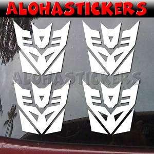 inch TRANSFORMERS DECEPTICON Car Decal Sticker M124M