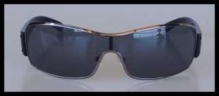 PRADA 100% Authentic Black & Gunmetal Mens Sports Sunglasses (SPS 52E