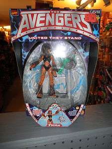 Toy Biz Marvel Comics Avengers United They Stand Tigra MOC