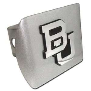 Baylor University Bears Brushed Silver Finish with Chrome