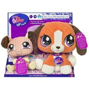 Littlest Pet Shop VIP Friends Beagle & Mouse Toys & Games