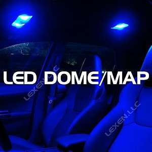 2X DOME MAP INTERIOR LIGHT BULB 9 SMD CIRCLE PANEL XENON HID LAMP b/B9