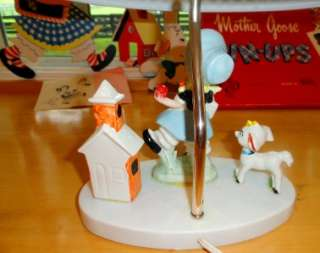 Nursery Rhyme~Baby~Child~LAMP & WALL DECOR~PIN UPs~Mother Goose