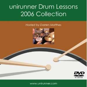Unirunner Drum Lessons Darren Matthes Movies & TV