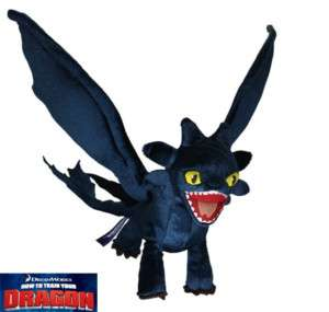 How to Train your Dragon Toothless NIGHT FURY Plush Toy Stuffed Doll